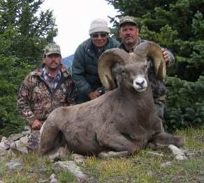 Lane Kinney with his 179 5/8 Ram