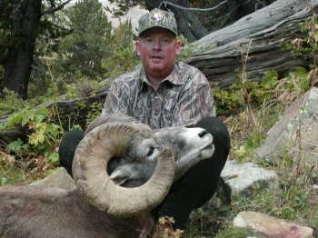 Frank Cox with his 173 4/8